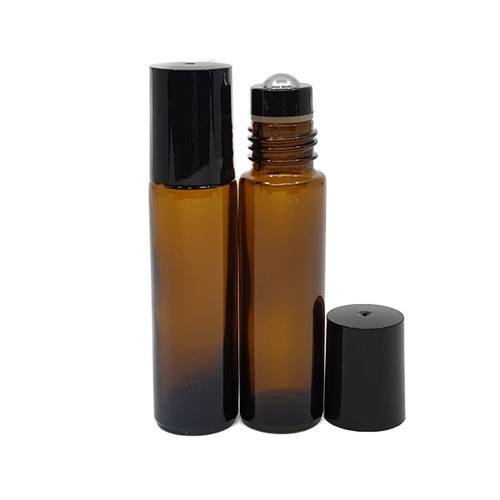 Amber 10ml roller bottle