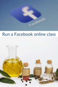 Facebook essential oil classes